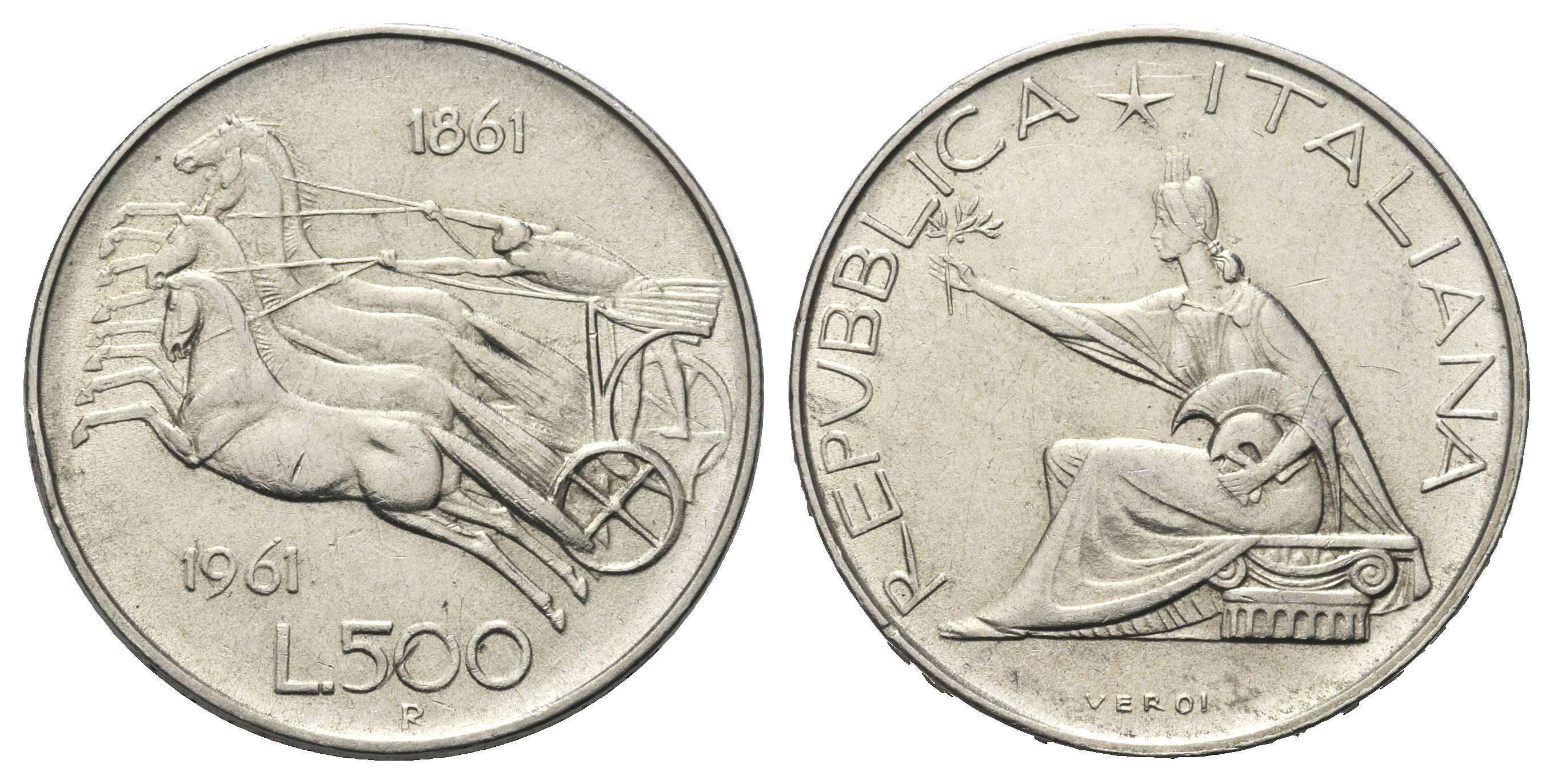 b9c956ecf3 500 lire unità d'italia. >